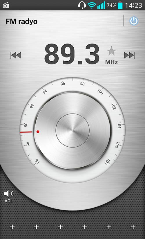 LG G2 Radyo Uygulaması